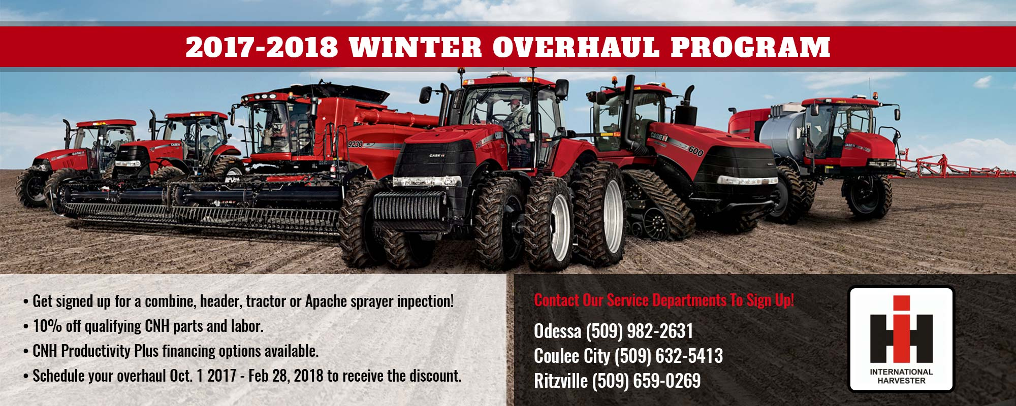 2017-2018 Winter Overhaul Program